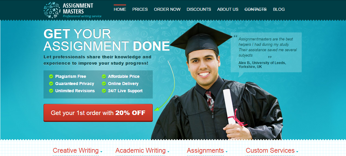 online academic writing companies