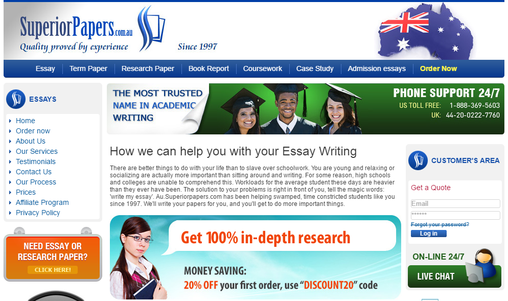 Reviews custom term paper sites