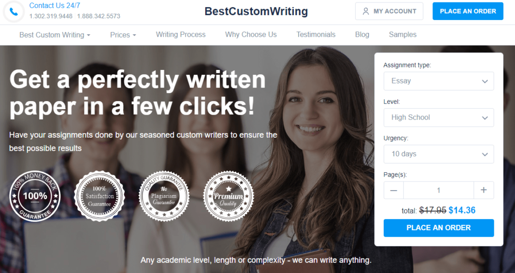 best custom writing review