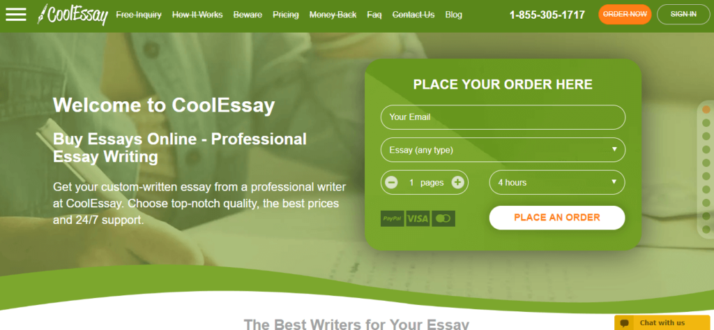 cool essay review