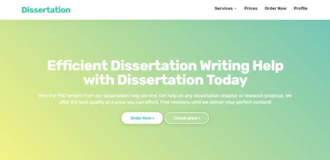 Dissertation literature review services