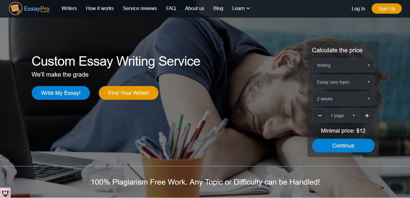 Essayprocom Review  Reviews Of The Best Essay Writing Services Essayprocom