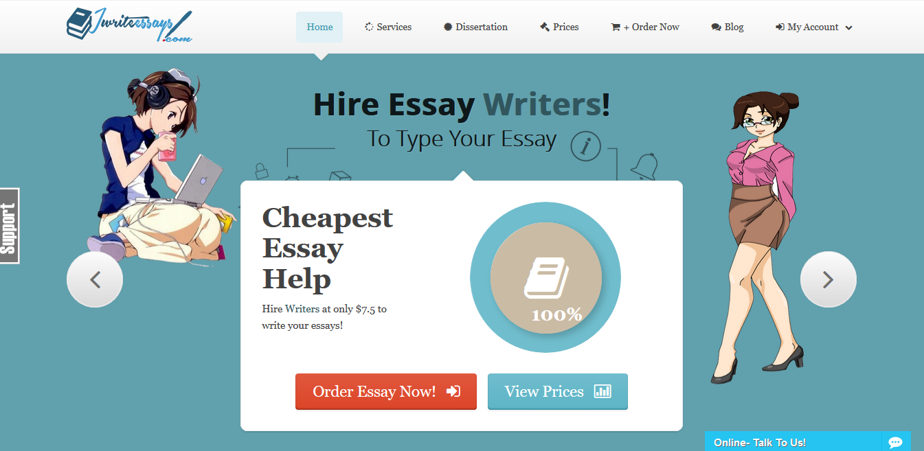 top essay writers With prices starting at $1299 per page, topessaywritingorg seems like an averagely priced company to start with if you continue reading their website content.