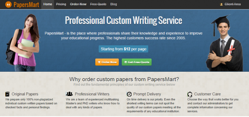 professional papers for college
