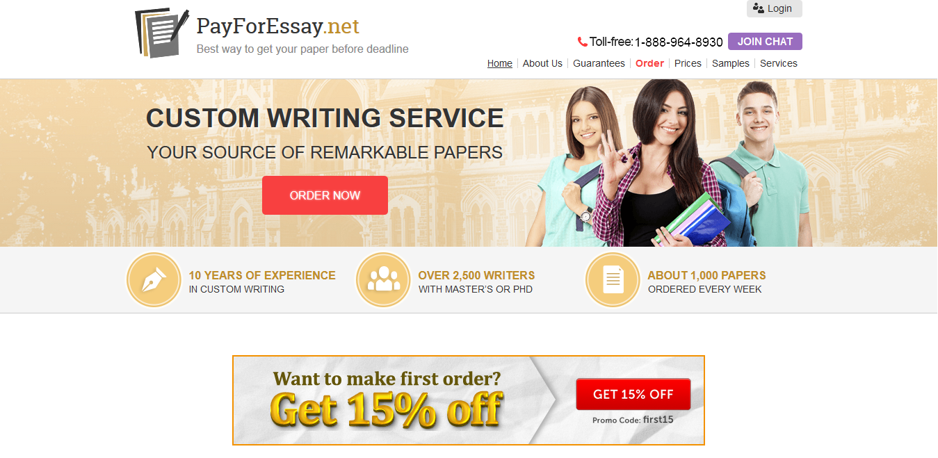 About our term paper writing service