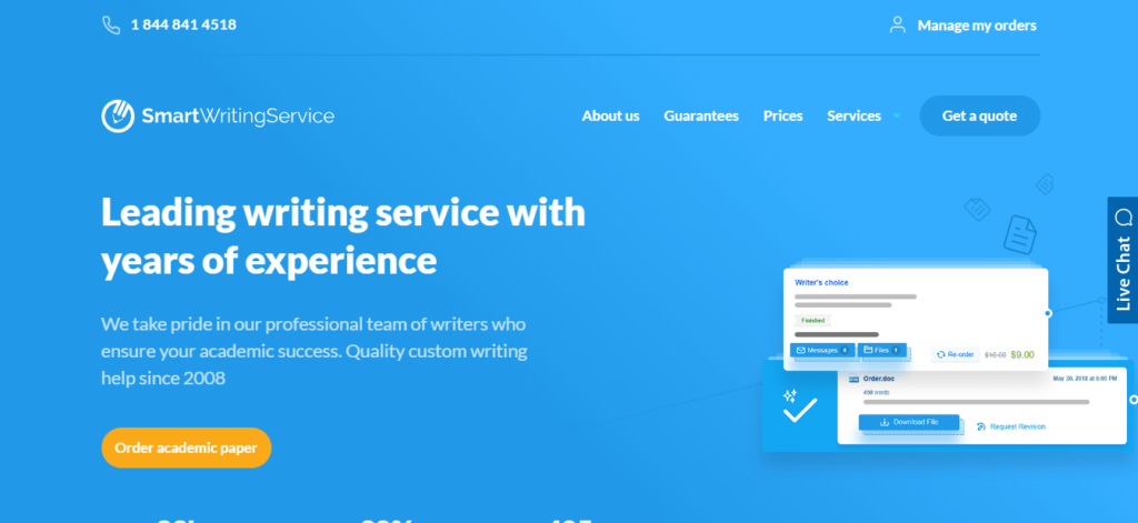 smart writing service review