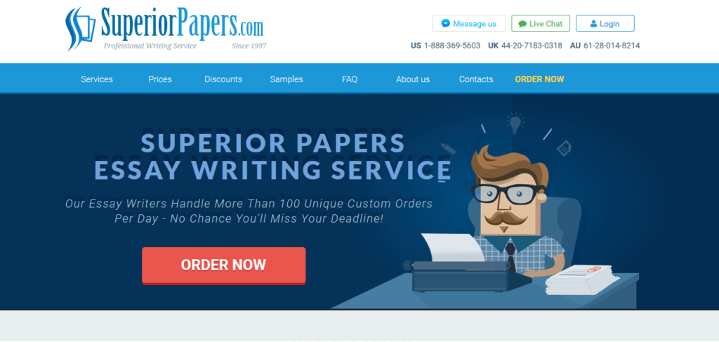 superior papers review