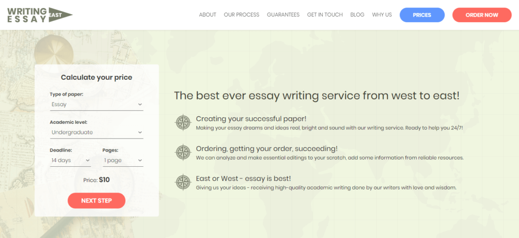 writing essay east review